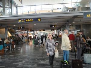 Aeroporto de Oslo.