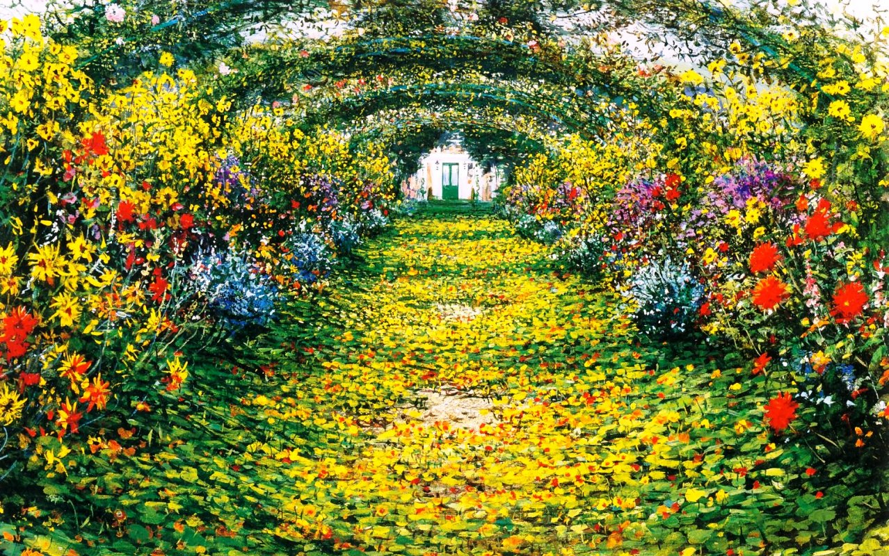 Giverny casa museu e jardins de monet blog da biloka for Jardines monet