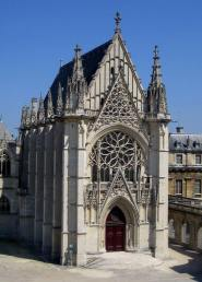 17190994_575358069328175_7501560285056052875_n (1)Sainte Chapelle in Paris and built in 1248.