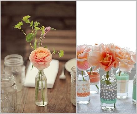 10.-artesanato-com-garrafas-de-vidro-que-servem-de-jarras-de-flores