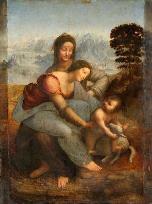 Vinci-Leonardo-da-A-Virgem-o-menino-Jesus-e-Santa-Ana