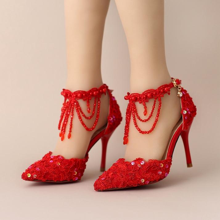 sapato-vermelho-noiva-customizado-scarpin-bic