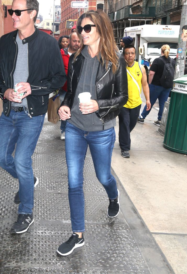 Cindy Crawford and Rande Gerber out and about, New York, USA - 06 May 2018