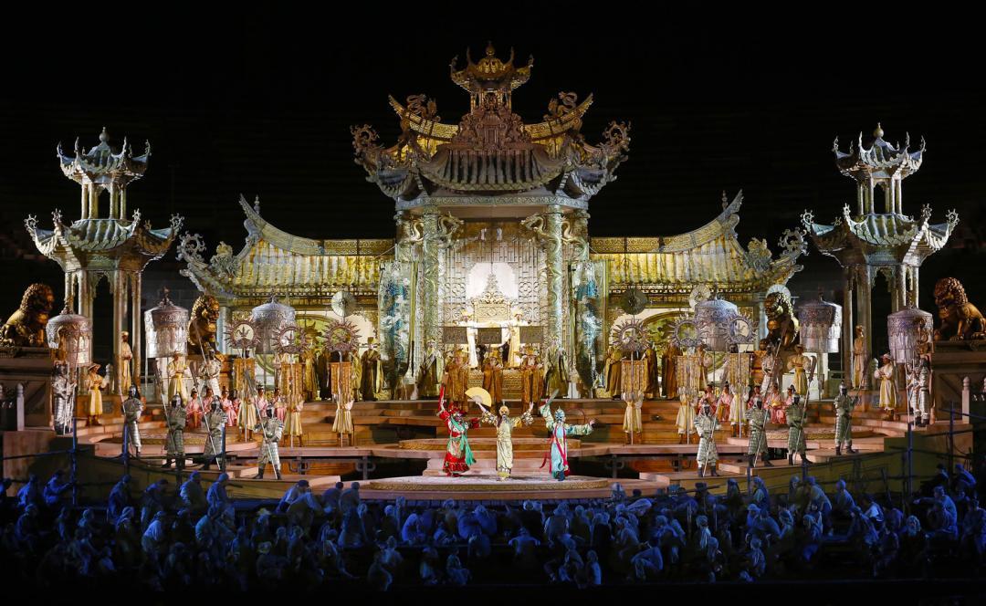 turandot Verona - Arena