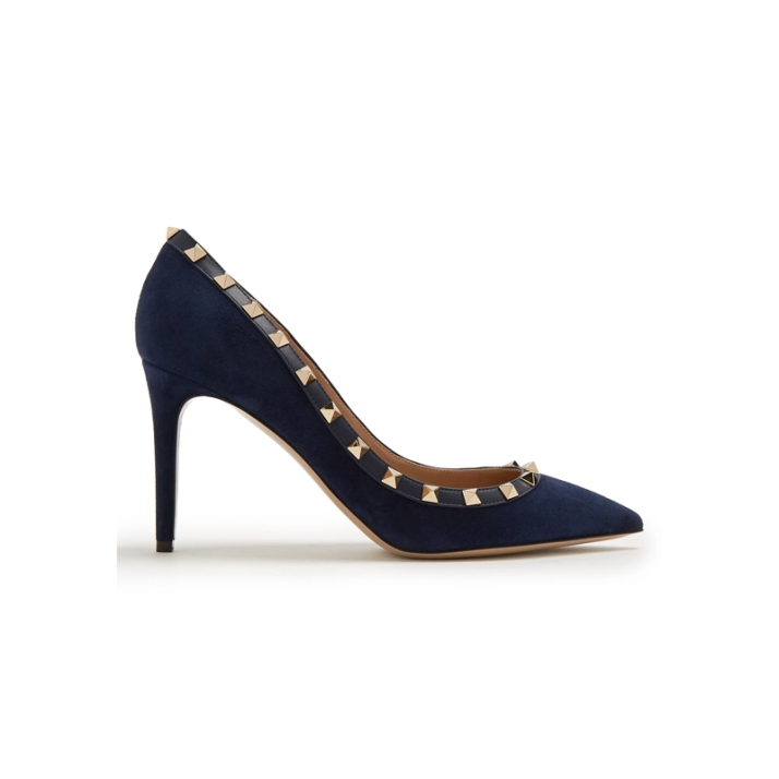 valentino-rockstud-point-toe-suede-pumps