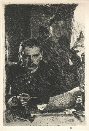Zorn-And-His-Wife