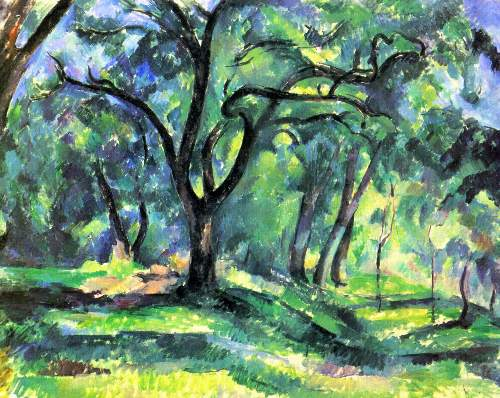 t_Cezanne - In the Woods
